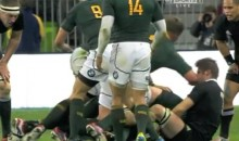 Springboks' Dean Greyling Delivers Vicious Elbow To The Head Of All Blacks' Richie McCaw (Video)