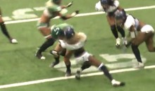 The Most Awesome Football Hit Of The Weekend Comes From…The LFL? (Video)