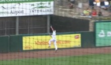 Pawtucket Red Sox Outfielder Jason Repko Makes An Incredible Over-The-Wall Catch (Video)
