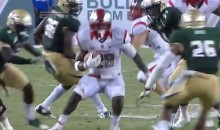 Rutgers RB Jawan Jamison Uses Sick Spin Move To Evade Tackle, Score Touchdown (Video)