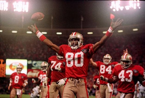jerry rice touchdown leader