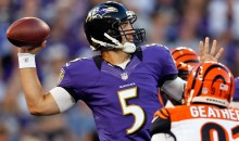 Stat Line Of The Night — 9/10/12 — Joe Flacco