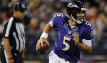 Stat Line Of The Night — 9/27/12 — Joe Flacco