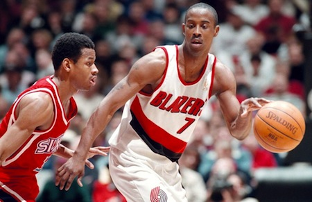 kenny anderson (portland trailbalzers) lots of kids
