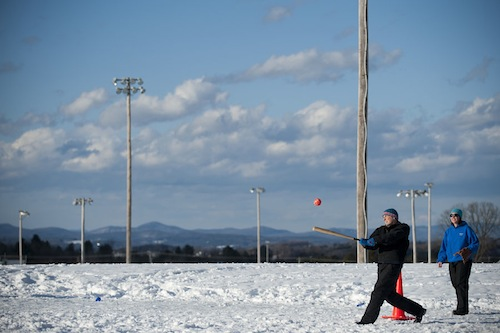 Freezing Fun For Families Winter Co-Ed Softball Tournament in Barre Town