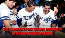 The 9 Longest Postseason Droughts in Major League Baseball