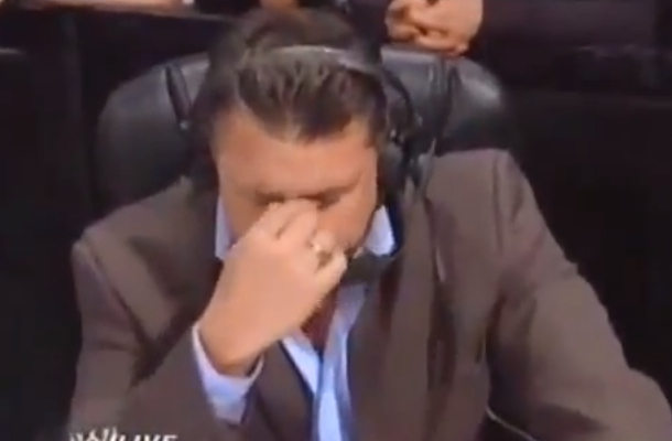 michael cole choked up about jerry lawler