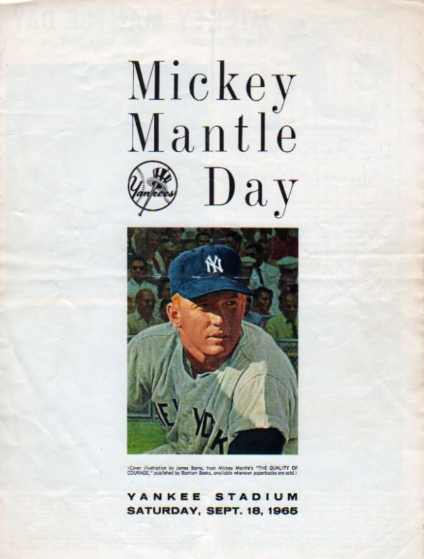 mickey mantle day program