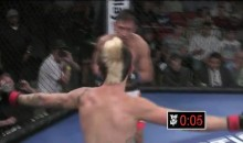 MMA Fighter Taunts His Opponent, Then Gets Knocked Out Cold (Video)