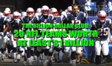 The Billion Dollar Club: 20 NFL Teams Worth At Least $1 Billion