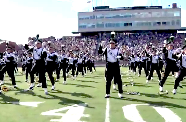 ohio marching band gangnam style