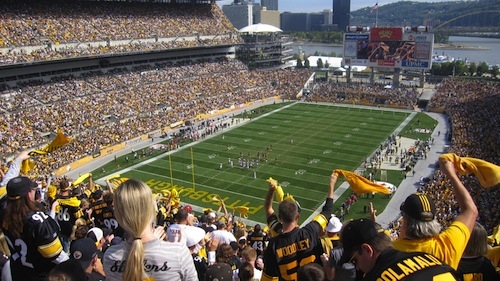 pittsburgh steelers fans stadium