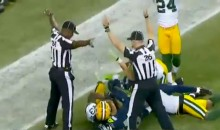 Internet Explodes With Outrage After Replacement Refs Ruin Seahawks-Packers Monday Night Football Game  (Video)