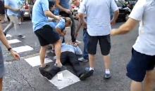 Footage Of Spanish Police Beating Manchester City Fans Surfaces On YouTube (Video)