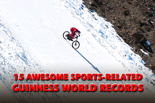 sports guinness world records