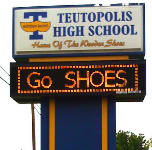 teutopolis high school wooden shoes weird high school team names