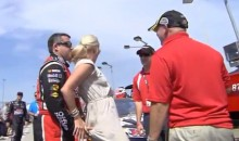 "Tony Stewart Likes To Grab Kevin Harvick's Wife's Butt ""For Good Luck"" (Video)"