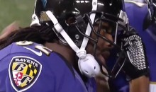 Heavy Hearted Torrey Smith Scores Two Touchdowns During The Ravens' Victory (Video)