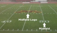U of Minnesota's Midfield Logo Is A Little Off-Center (Pic)