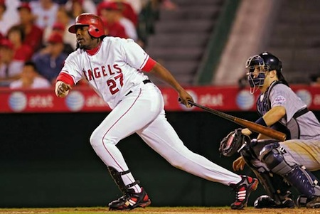vladimir guerrero (angels) lot of kids
