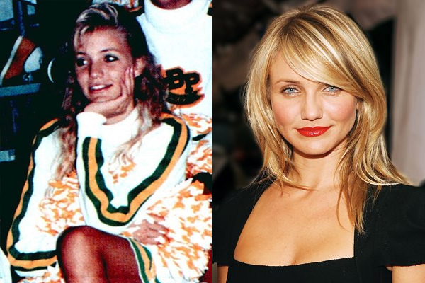 10 cameron diaz celebrities cheerleader cheerleading