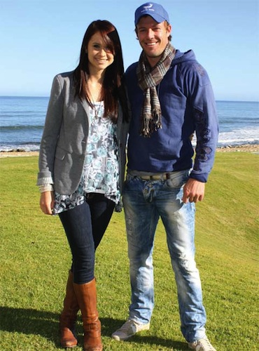 13 Danielle Swart (fiance of cricket player AB de Villiers) T20
