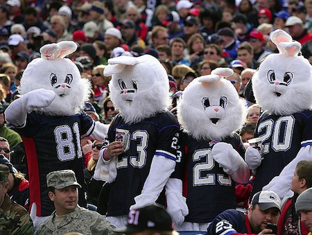 13 buffalo bills fans bunny masks creepy nfl fans