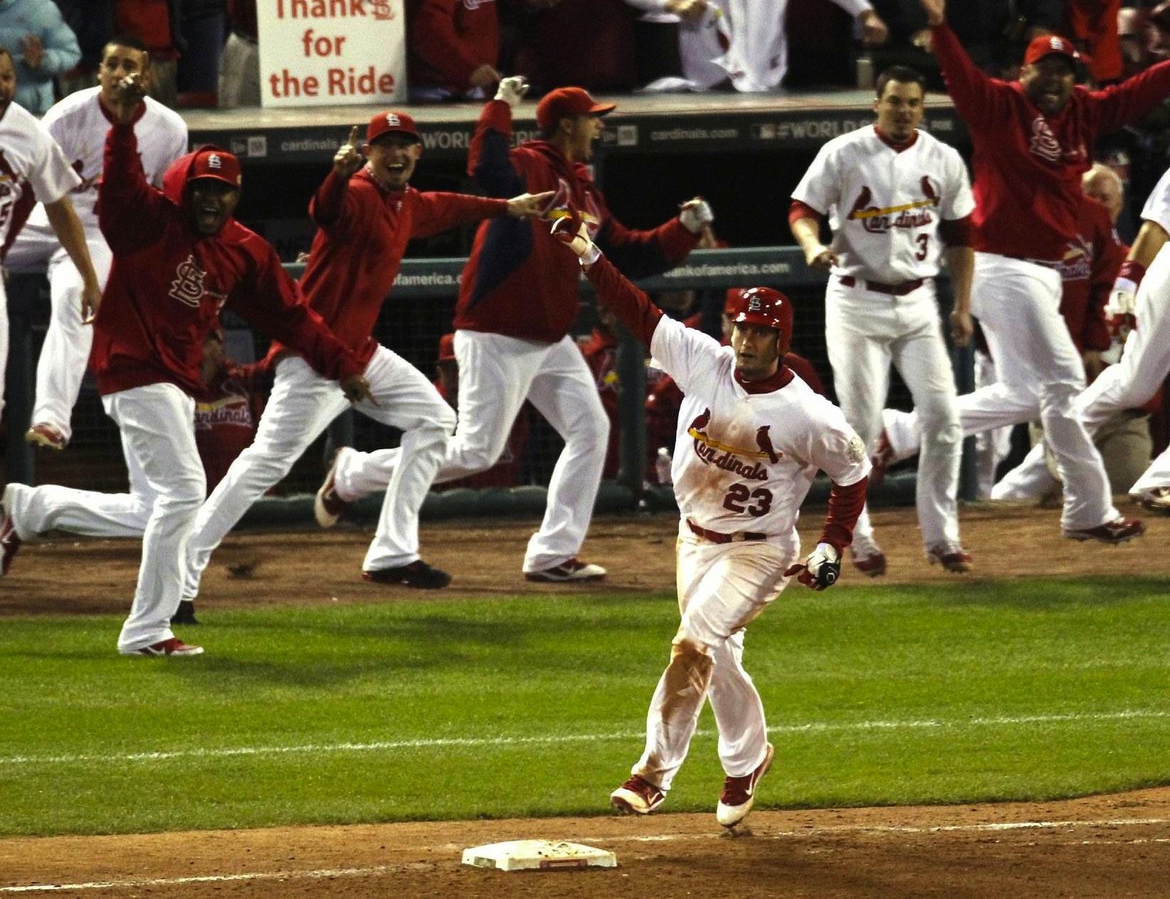 14 david freese home run game 6 hometown sports heroes