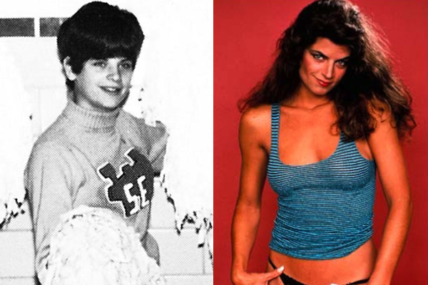14 kirstie alley hot celebrities cheerleaders