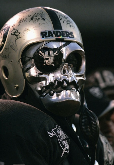 14 raiders fan creepy nfl fans