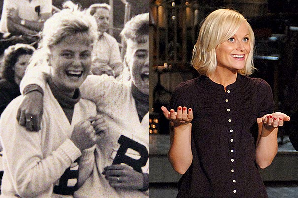 18 amy poehler celebrities cheerleaders