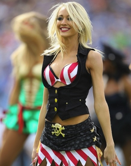 19 Sexy Pirate - NFL Cheerleaders Halloween Costumes