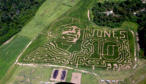 2 corn maze chipper jones
