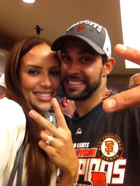 2 windy pagan (angel pagan wife) baseball world series wags