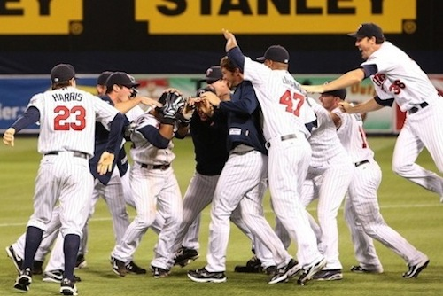 2009 twins tigers one-game playoff al central