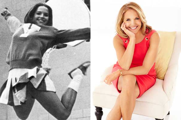 21 katie couric celebrities cheerleaders
