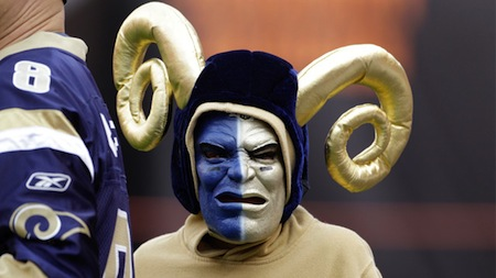 22 st. louis rams fan creepy nfl fans