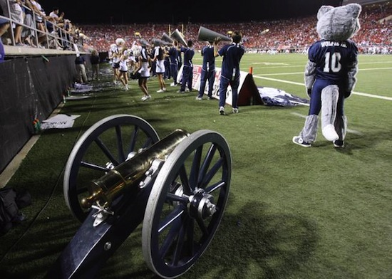 25 fremont cannon trophy - battle for nevada (nevada wolf pack vs. unlv rebels)