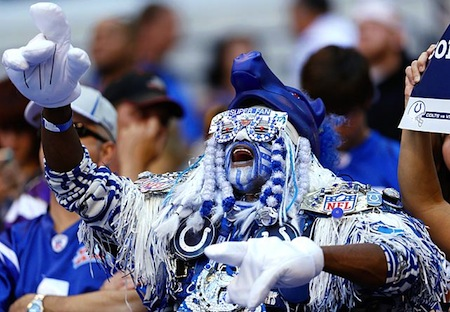 27 indianapolis-colts-fan creepy nfl fans & 30 of the Creepiest NFL Fans Youu0027ll Ever See | Total Pro Sports