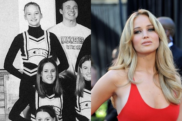 3 jennifer lawrence celebrities cheerleaders cheerleading
