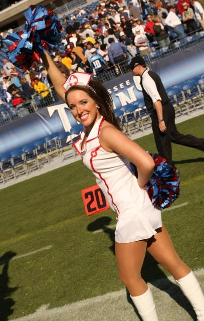 30 Sexy Nurse - NFL Cheerleaders Halloween Costumes