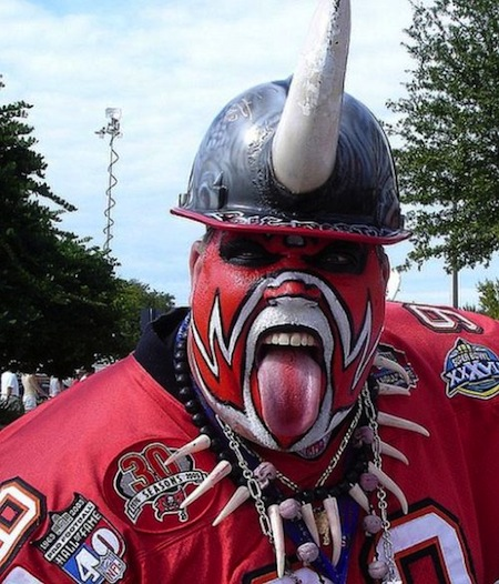 30 tampa bay buccaneers fan creepy nfl fans