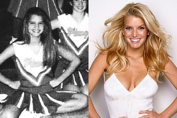 4 jessica simpson cheerleader cheerleading