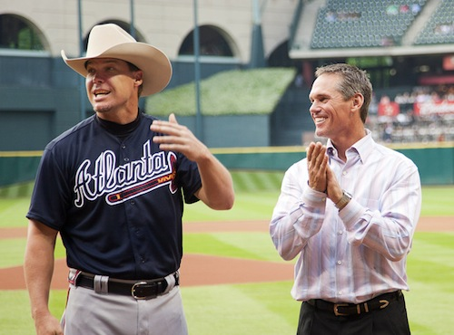 5-chipper-jones-retirement-gift-astros-cowboy-hat