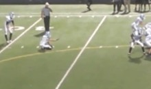 High School Kid Kicks An Insane 67-Yard Field Goal (Video)