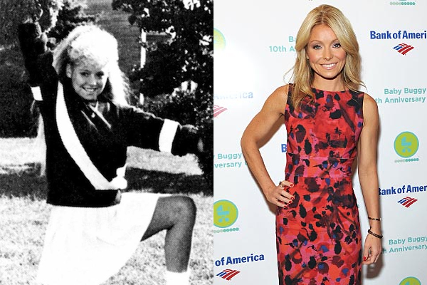 9 kelly ripa celebrities cheerleaders