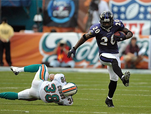 Ed Reed baltimore ravens interception