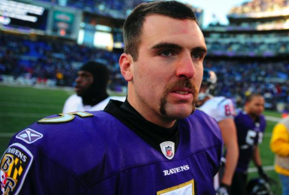 Joe Flacco mustache