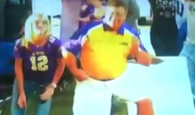 Check Out This LSU Fan's Smooth Moves In Slow-Motion (Video)