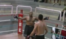Cocky MMA Fighter Leaves Himself Open For The Knockout Punch (Video)